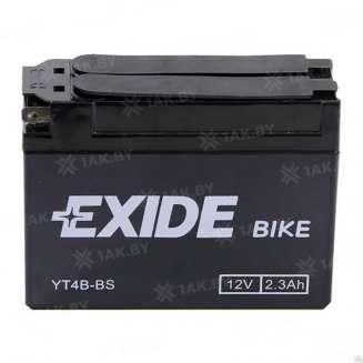 Аккумулятор EXIDE (2.3 Ah) 35 A, 12 V Прямая, L+ 0