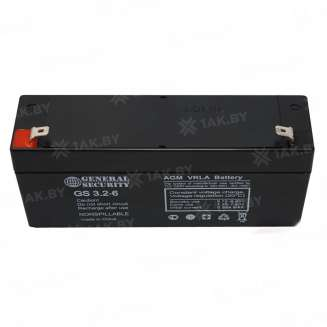 Аккумулятор GS (3.2 Ah) , 6 V 0