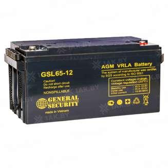 Аккумулятор GS (65 Ah) , 12 V 0
