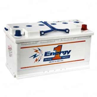 Аккумулятор ENERGY ONE (100 Ah) 800 A, 12 V Прямая, L+ 0