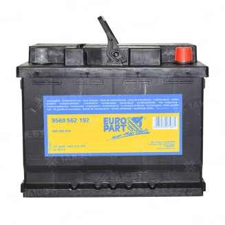 Аккумулятор EUROPART (60 Ah) 540 A, 12 V Обратная, R+ 0