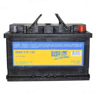 Аккумулятор EUROPART (70 Ah) 640 A, 12 V Обратная, R+ 0