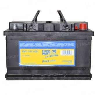 Аккумулятор EUROPART (72 Ah) 680 A, 12 V Обратная, R+ 0