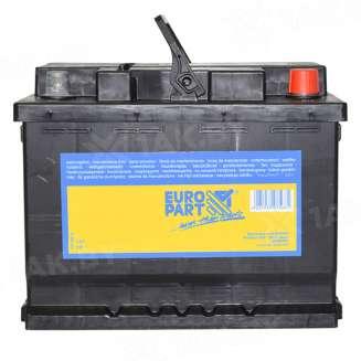 Аккумулятор EUROPART (56 Ah) 480 A, 12 V Обратная, R+ 0