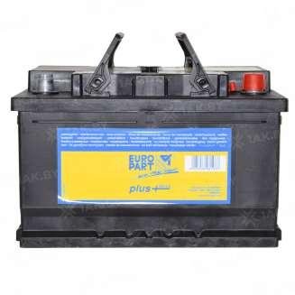 Аккумулятор EUROPART (74 Ah) 680 A, 12 V Обратная, R+ 0