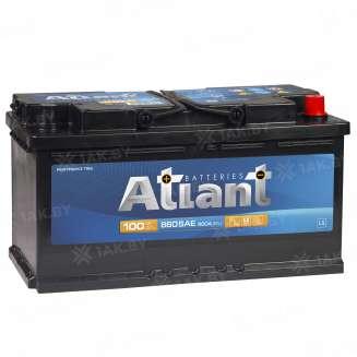 Аккумулятор ATLANT (100 Ah) 800 A, 12 V Обратная, R+ 1