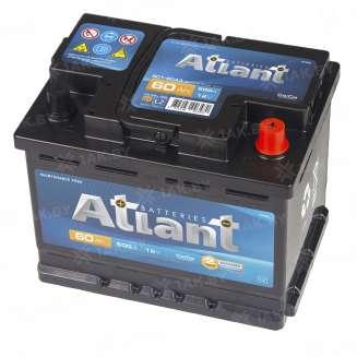 Аккумулятор ATLANT (60 Ah) 480 A, 12 V Обратная, R+ 0