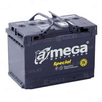 Аккумулятор A-MEGA (55 Ah) 480 A, 12 V Обратная, R+ 0