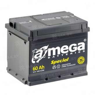 Аккумулятор A-MEGA (60 Ah) 540 A, 12 V Обратная, R+ 0