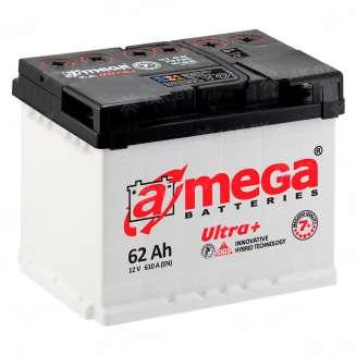 Аккумулятор A-MEGA (62 Ah) 610 А, 12 V Обратная, R+ 0