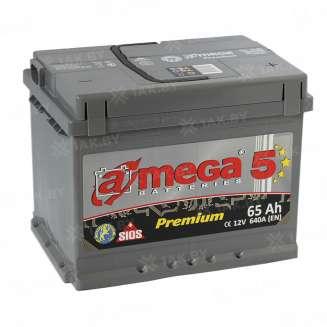 Аккумулятор A-MEGA (65 Ah) 640 A, 12 V Обратная, R+ 0