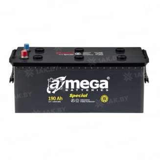 Аккумулятор A-MEGA (190 Ah) 1150 A, 12 V Прямая, L+ 0