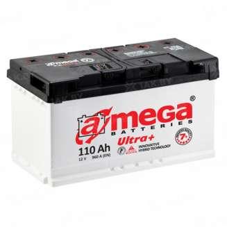 Аккумулятор A-MEGA (110 Ah) 960 A, 12 V Обратная, R+ 0