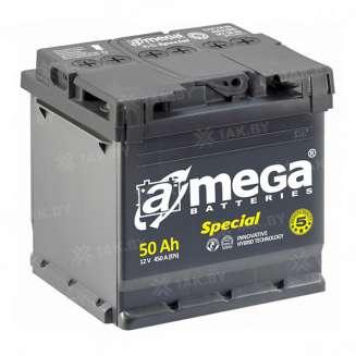Аккумулятор A-MEGA (50 Ah) 450 A, 12 V Обратная, R+ 0