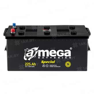 Аккумулятор A-MEGA (225 Ah) 1250 A, 12 V Прямая, L+ 0