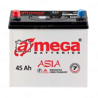 Аккумулятор A-MEGA (45 Ah) 430 A, 12 V Прямая, L+ 0