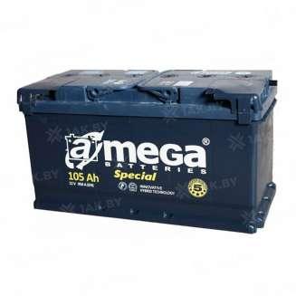Аккумулятор A-MEGA (105 Ah) 950 A, 12 V Обратная, R+ 0