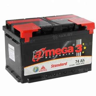 Аккумулятор A-MEGA (74 Ah) 720 A, 12 V Обратная, R+ 0