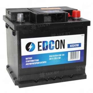 Аккумулятор EDCON (52 Ah) 470 A, 12 V Обратная, R+ 0
