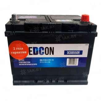 Аккумулятор EDCON (68 Ah) 550 A, 12 V Обратная, R+ 0