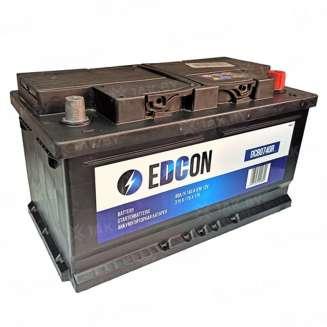 Аккумулятор EDCON (80 Ah) 740 A, 12 V Обратная, R+ 0