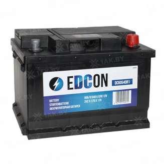 Аккумулятор EDCON (60 Ah) 540 A, 12 V Обратная, R+ 0