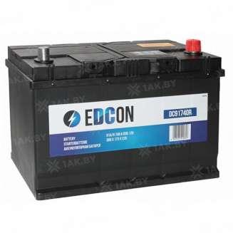 Аккумулятор EDCON (91 Ah) 740 A, 12 V Обратная, R+ 0
