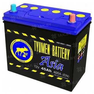 Аккумулятор Тюмень (45 Ah) 400 A, 12 V Обратная, R+ 0