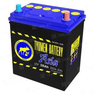 Аккумулятор Тюмень (38 Ah) 350 A, 12 V Обратная, R+ 0