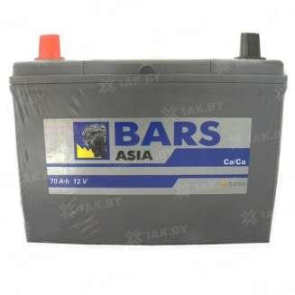Аккумулятор BARS (70 Ah) 600 A, 12 V Прямая, L+ 0