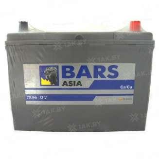 Аккумулятор BARS (70 Ah) 600 A, 12 V Обратная, R+ 0