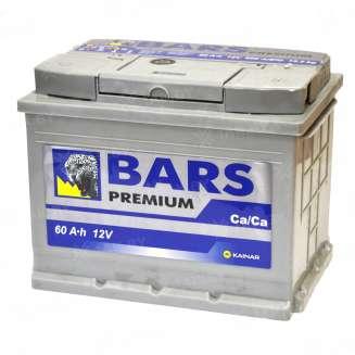 Аккумулятор BARS (60 Ah) 600 A, 12 V Обратная, R+ 0
