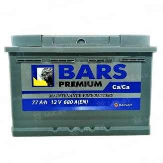 Аккумулятор BARS (77 Ah) 680 A, 12 V Обратная, R+ 0