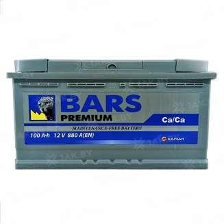 Аккумулятор BARS (100 Ah) 880 A, 12 V Обратная, R+ 0