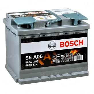 Аккумулятор BOSCH (60 Ah) 680 A, 12 V Обратная, R+ 0
