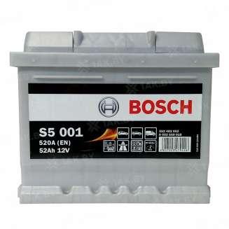 Аккумулятор BOSCH (52 Ah) 520 A, 12 V Обратная, R+ 0