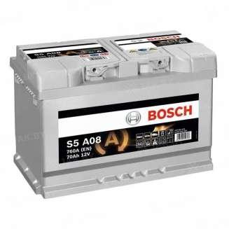 Аккумулятор BOSCH (70 Ah) 760 A, 12 V Обратная, R+ 0