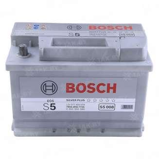 Аккумулятор BOSCH (77 Ah) 780 A, 12 V Обратная, R+ 0