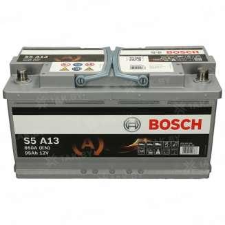 Аккумулятор BOSCH (95 Ah) 850 A, 12 V Обратная, R+ 0