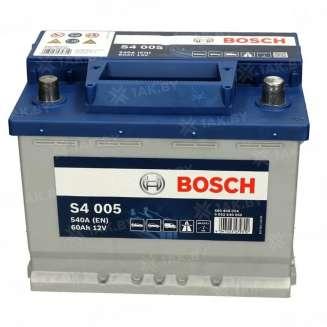 Аккумулятор BOSCH (60 Ah) 540 A, 12 V Обратная, R+ 0