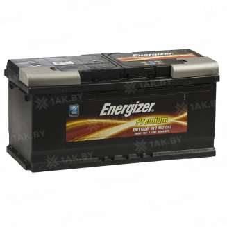 Аккумулятор ENERGIZER (110 Ah) 920 A, 12 V Обратная, R+ 0