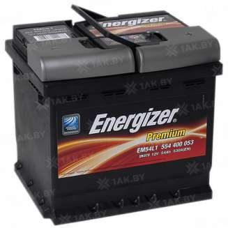 Аккумулятор ENERGIZER (54 Ah) 530 A, 12 V Обратная, R+ 0