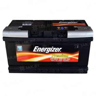 Аккумулятор ENERGIZER (100 Ah) 830 A, 12 V Обратная, R+ 0