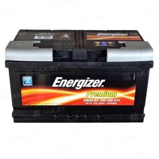 Аккумулятор ENERGIZER (80 Ah) 740 A, 12 V Обратная, R+ 0