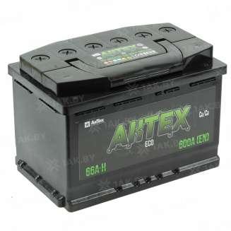 Аккумулятор AKTEX (66 Ah) 600 A, 12 V Обратная, R+ 0
