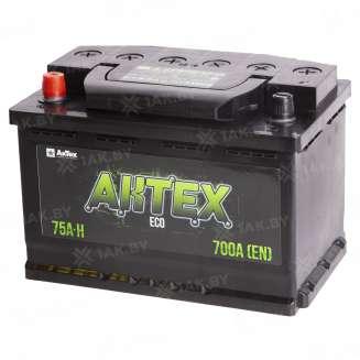 Аккумулятор AKTEX (75 Ah) 700 A, 12 V Прямая, L+ 0