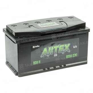 Аккумулятор AKTEX (90 Ah) 800 A, 12 V Прямая, L+ 0
