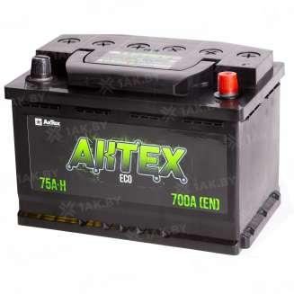 Аккумулятор AKTEX (75 Ah) 700 A, 12 V Обратная, R+ 0