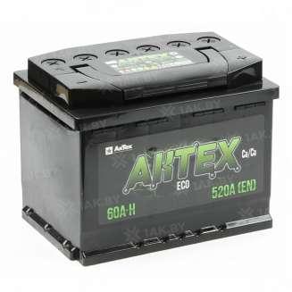 Аккумулятор AKTEX (60 Ah) 520 A, 12 V Обратная, R+ 0