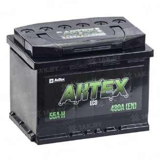 Аккумулятор AKTEX (55 Ah) 480 A, 12 V Обратная, R+ 0